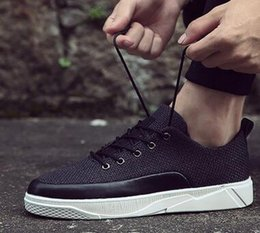 Wholesale Silver Open Toe - 2017 In the summer New style breathable Casual shoes High quality Men and women fashion Net cloth shoes size 36-45