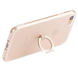 Wholesale Transparent Mobile Phones For Sale - 200 PCS Cell Phone Cases for Apple 7 mobile phone case ring bracket iphone 6 plus wear 6S protection sleeve Factory direct sale