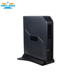 Wholesale Mini Window Fan - Partaker I3 5005U Fan Mini PC With VGA HDMI Ports Free Shipping