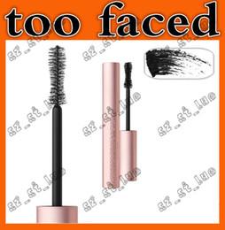 Wholesale Wholesale Free Delivery - 3PCS 2017 the latest too faced BETTER THAN SEX MASCARA mascara thick fiber long roll waterproof sweat lasting anti-blooming Free Delivery