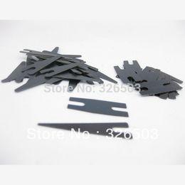 Wholesale Tattoo Spring Shader - Wholesale-10 Sets Black Tattoo Machine Gun Parts Shader Contact Spring Set Supply TSS11-10