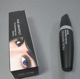 Marca de azotes online-Hot Brand 520 Makeup Mascara False Lash Look Máscara negro impermeable 13.1ml DHL envío rápido