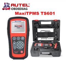 Wholesale Obd2 Adapter Usb - Original AUTEL MaxiTPMS TS601 TS 601 With OBD2 Adapters TPMS Programming+Coding Diagnostic+Service Tool