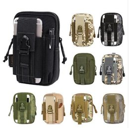 Wholesale College Accessories - Multifunction EDC Security Pack Carry Accessory Kit Blowout Pouch Belt Waist Bag Nylon Tactical Pack for Camping Hiking Travel