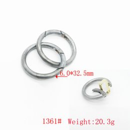 Wholesale Metal Forges - Fashion style forged metal open ring for bag customized metal o rings for bags and curtains