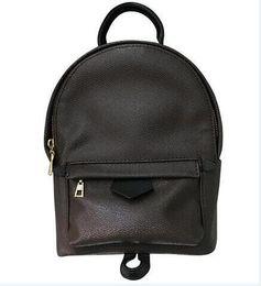 Wholesale Rucksack Leather - MEM Rivet 13 Style Backpack Designer Backpack for Men Women PVC Leather Boy Girls Satchel Fashion Rucksack PU lEATHER Size Medium