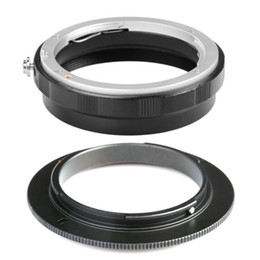 Wholesale Ring Reverse Macro - Brand COMLYO Camera Lens Adapter AI-52mm Macro Reverse Adapter Rear Lens Protection Ring For Nikon F AI AF Mount 3M Lens Adapter in Stock