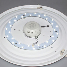 Wholesale magnet led light ceiling - 5W 12W 15W 18W 23W SMD 5730 LED Ceiling Circular Magnetic Light Lamp AC85-265V AC220V Round Ring LED Panel board with Magnet