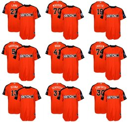Wholesale Mens Games - Mens Womens Youth National League 2017 MLB All-Star Game Michael Conforto Max Scherzer Jake Lamb Joe Maddon Joey Votto Harrison Bour Jerseys