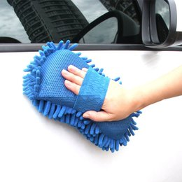 Wholesale Double Sided Microfiber - Wholesale- Vehicle Double Side Microfiber Premium Chenille Noodle Wash Sponge Pad wtih Mesh Pad Design Amazingly Absorbent Easy to Clean