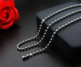 Wholesale Grandes promotions perle chaîne chaîne collier homard fermoirs chaîne bijoux taille mm cm cm