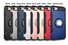 Nuevo estuche híbrido de armadura para iPhone x xsmax s10l10 híbrido de gravedad TPU + PC para Samsung S8 S8 + S7 edge Teléfonos celulares protector del imán del imán desde fabricantes