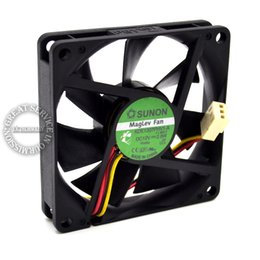 Fã original do sunon on-line-Atacado-New Original SUNON 7015 KDE1207PHV1-A 12V 2.8W 0.23A CPU do computador Fan, Cooler Fan, ventilador de refrigeração