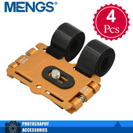 Wholesale Digital Camera Dc - Wholesale- MENGS 4Pcs per pack 1 4'' Screw Metal Bicycle Holder Stand & Action Mount For DV   DC And Digital SLR Camera(14130007805)