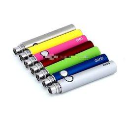 Wholesale Luxury Battery For Electronic Cigarette - Ego Evod Battery E-cigarette Luxury Battery Electronic Cigarette EVOD MT3 E cigarette for MT3 CE4 Atomizer 510 eGo Atomizer E-cig