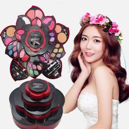 Wholesale Maquillage Korean - Miss Rose Makeup Palette Eyeshadow Palette maquillage For Dresser Miss Rose Ultimate Color Make Up Kit Set Opens As A Rose. USA SELLER