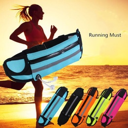 Wholesale Neoprene Inch - Universal Less Than 6 inch Phone Waterproof Sports Running Waist Pocket Belt Pouch Case For iPhone 6 6S 7 Plus MOQ:50PCS