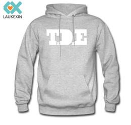 Wholesale Custom Printed Fleece - Wholesale-S-3XL Plus Size 2015 Stylish Men Hoodies High Quality Casual Sweatshirt Men Long Sleeve Clothing Personal Custom Pullover T.D.E