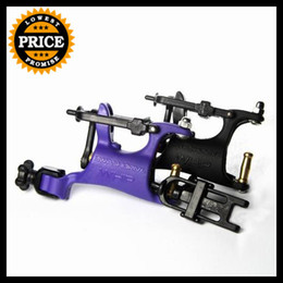 Wholesale Butterfly Rotary - SALE! 2PCS Pro Swashdirve Butterfly Rotary Tattoo Machine Pemier Strong Silent Tattoo China Machine Purple+Black Free Shipping