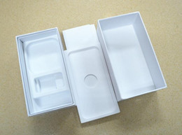 Caixa branca de maçã on-line-Caixa branca da embalagem vazia do telefone com os 100pcs para 4.7inch, 5.5inch