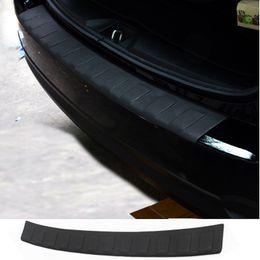 Wholesale Car Rear Bumper Protectors - Wholesale- Car Auto Accessory Rear Bumper Protector Tail Door Sill Plate For Subaru Forester 2013 2014 2015 Pu 1Pc