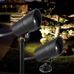 Luce spot principale impermeabile 3w online-LED Garden Lampade da giardino Light 12V 3W COB IP67 Impermeabile Outdoor Spot da giardino Spot Light LED Lampada prato Prikspot tuinspot Illuminazione paesaggistica
