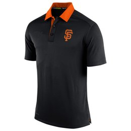 Wholesale Giant Collection - new styles of Dri Men's Giant Orange Authentic Collection Elite polo shirt fit,free shipping,accept any size and mix order