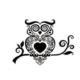 Wholesale Car Sticker Tree - 2017 Hot Sale Car Stying Owl On Branch Vinyl Sticker Decal Car Truck Jdm Hoot Wise Cute Tree Creative Stickers Jdm