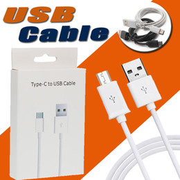 Wholesale Charger Retail Color - 1M 3ft Micro USB Cable Type C Sync Data Cable Wire Cords Charging Charger Adapter For Samsung With Retail box