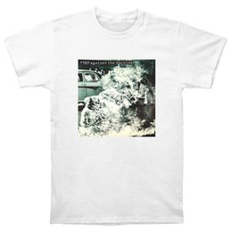 Wholesale Top Shirt Printing Machine - Rage Against The Machine T Shirt CD LP Vinyl Poster T-Shirts New Men T Shirt 2017 Fashion Top Tee