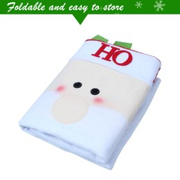 Wholesale Furniture Dining Rooms - Fashion Elk Santa Claus Xmas Chair Furniture Cover 50*60cm Party Diner Dining Room Table Chair Cover Home Decorations