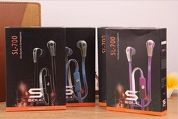 Wholesale Chinese Wholesale Soul Headphones - Mini Soul SL700 Soul By Ludacris Ear Earphone Headset Headphone For Apple Ipod Iphone Android phone with retail package