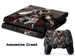 Canada Stickers vinyle Assassin Creed Skin pour console PS4 + 2 contrôleurs de contrôleur de PCS Skins de décalque pour Playstation 4 Offre