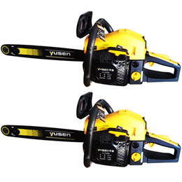 "Wholesale Powered Chain Saw - Hot selling portable 3 8 20"" chainsaw gasoline chain saw wood cutting machine 55cc big power"