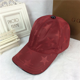 Wholesale Black Tourism - High-quality designer hats fashion five-pointed star pattern sun hat tourism outdoor cap European and American brand ball caps With Box