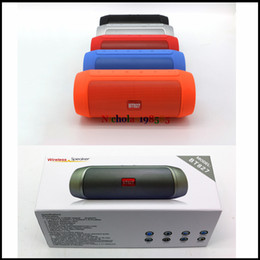 Wholesale Speaker Portable Fashion - Newest BT827 Bluetooth Wireless Powerbank Speakers Mini Portable Subwoofers Handsfree Mic TF Card FM Radio Fashion Speaker for Smart Phone