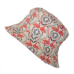 Wholesale Church Hats For Ladies Wholesale - Black Colorful Floral Print Bucket Hats Floral Fishing Caps For Women Ladies Men Brooklyn Bucket Hat Fisherman Hat leisure hats