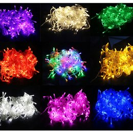 exterior de interior v v colores m led cadena de luces de navidad de navidad de navidad de boda partido de iluminacin de ao