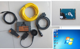 Wholesale Ista P - Newest Version 2017.07 ICOM A2 for bmw with Softrware hdd 500gb ISTA D (4.05) & ISTA P(3.61) Native Installed with fast running speed