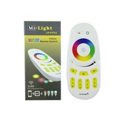 Wholesale Led Rf Remote Bulb - 2017 dhl SHIP Mi.light 2.4G RGBW RGB remote control for Bulb&led strip Wireless RF Controller Touch screen controller