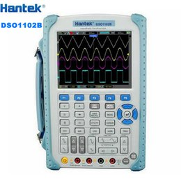 "Wholesale Hantek Probes - Portable Hantek DSO1102B Digital Oscilloscope USB Host Probe 5.6"" TFT Color LCD Multimeter 100 MHz 1Gsa S Handheld Automotive"