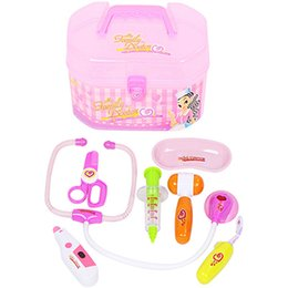 Wholesale Doctor Kits - Children's play house toys The simulation of medical case The doctor kit toy suit No.9901 9901B
