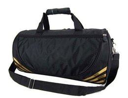 Wholesale Men Traveling Bags - Hot sale brand design men women traveling bag outdoor sports mens Fitness bag business luggage bag free shipping