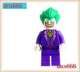 Wholesale People Heroes - 480pcs lot PG8032 Super Heroes figures Joker Batman Catwoman Robin Poison Ivy Calendar people Harley Quinn Bricks Toys