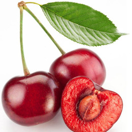 Wholesale Red Hot Fruits - 10pcs bag Hot Sale Dark Red Cherry seeds Balcony Bonsai fruit seeds Organic cherry fruit seeds pot plants for home garden
