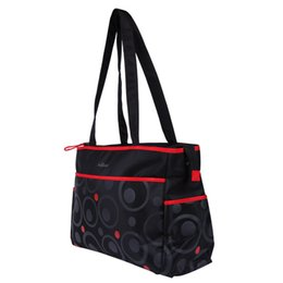 Wholesale Maternal Bags - Wholesale-2016 Fashion Woman Baby Diaper Bags For Mother Brand Maternity Bags Multifunctional Dot Maternal Bag Waterproof Handbags For Mom