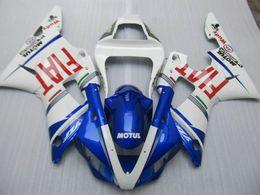Wholesale Yamaha Body Set - 4 Gifts New bodywork set fairings kits fit for YAMAHA 1998 1999 YZF-R1 98 99 YZFR1 98 99 YZF R1 YZFR1000 ABS fairing body FIAT