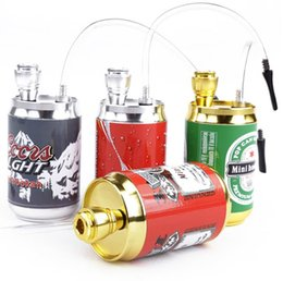 Wholesale Wholesale Canned - Metal aluminum color canned bottle pipe diameter 5CM height 10CM foreign trade pipe GT7007