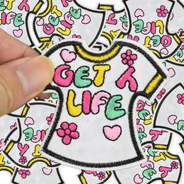 06feca6bfa1f0 t-shirt à coudre Promotion Diy T-shirt patches pour vêtements fer brodé  patch