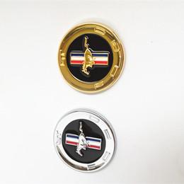 1 PCS style de voiture 3D CHROME METAL EMBLEME MUSTANG HORSE emblème autocollant de carrosserie de voiture badge universel ? partir de fabricateur
